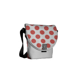 Polka Dots Cayenne Courier Bags