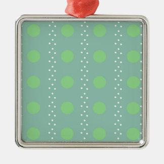 Polka dots christmas ornament
