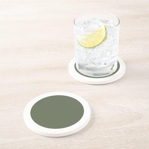 Polka Dots Cypress Drink Coasters
