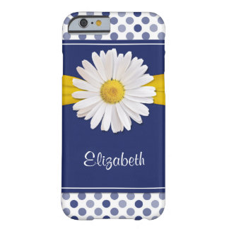 Polka Dots Daisy iPhone 6 Barely There Barely There iPhone 6 Case