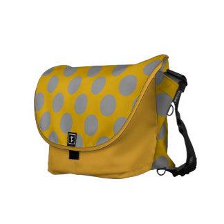 Polka Dots Design Messenger Bag