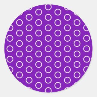 polka dots DOT scored dotted scores point Round Sticker