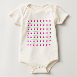 polka dots dots scored baby bodysuits
