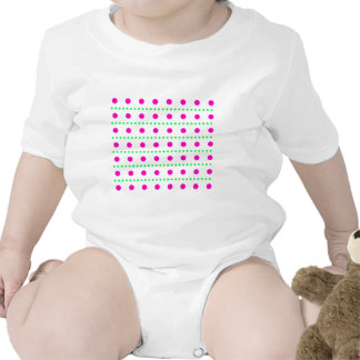 polka dots dots scored baby bodysuit