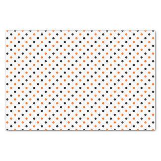 polka dots dotty halloween pattern tissue paper