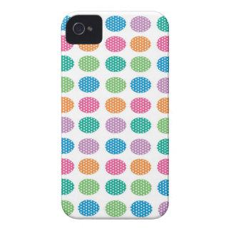 Polka dots eggs Case-Mate iPhone 4 case