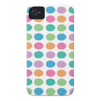 Polka dots eggs iPhone 4 Case-Mate case