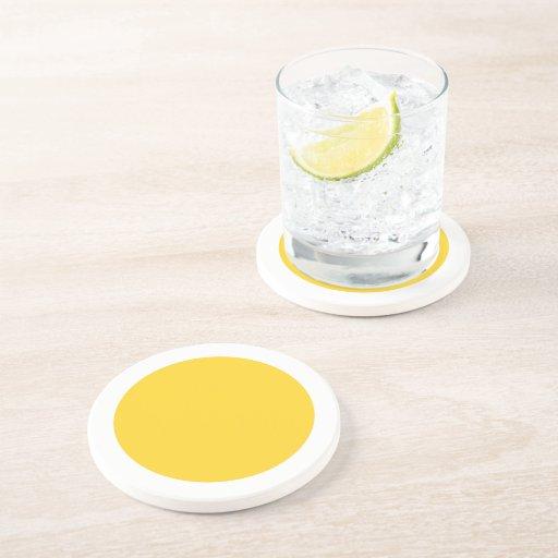 Polka Dots Freesia Drink Coasters
