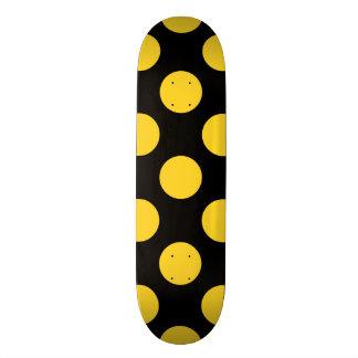 Polka Dots Freesia Skateboard Decks