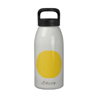 Polka Dots Freesia Reusable Water Bottle