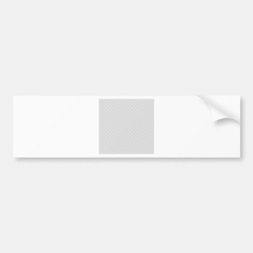 Polka Dots - Gray 2b Bumper Sticker