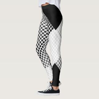 Polka Dots Grey Leggings