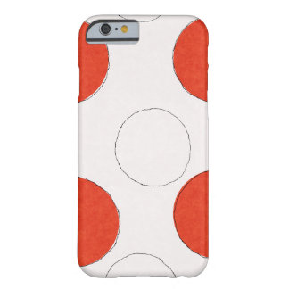 Polka dots I phone Barely There iPhone 6 Case