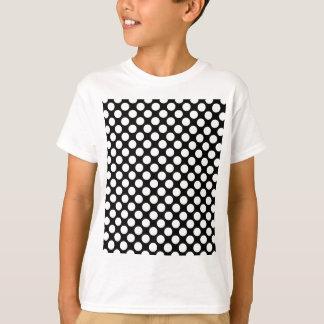Polka Dots Mod Pattern Tee Shirt