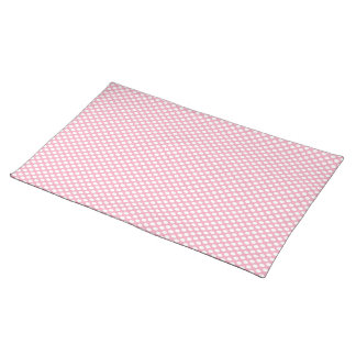 Polka Dots on Pink Placemat