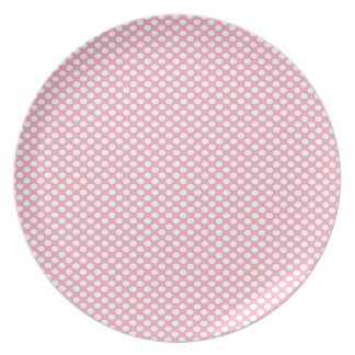 Polka Dots on Pink Plate
