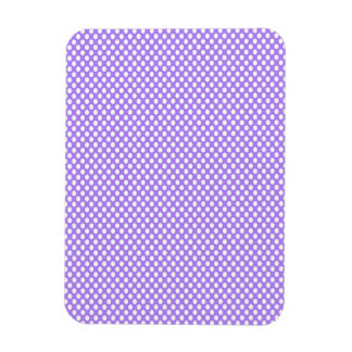 Polka Dots on Purple Magnet