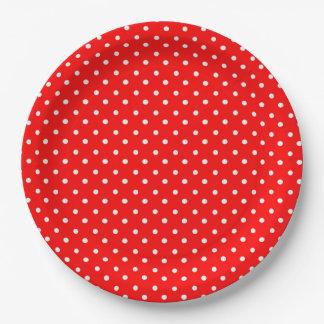 Polka Dots Paper Plate