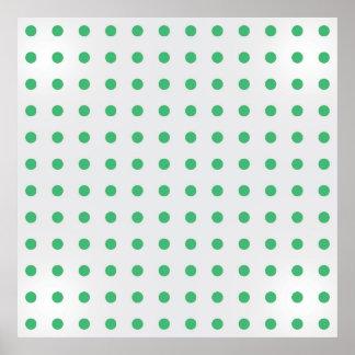 Polka Dots Paper Poster
