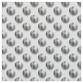 Polka dots pattern fabric