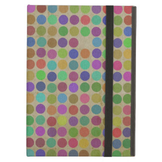 Polka Dots Pattern Fashion Vintage Retro Colors iPad Air Case