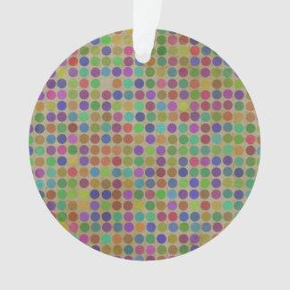 Polka Dots Pattern Fashion Vintage Retro Colors Ornament