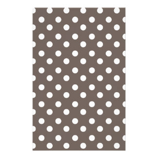 Polka Dots Pattern Gifts Stationery Design