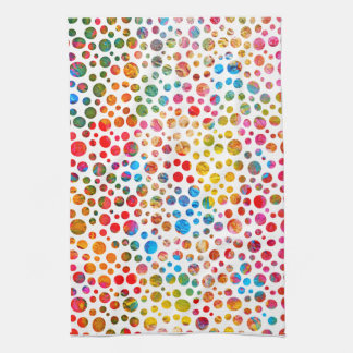 Polka Dots Pattern Tea Towel