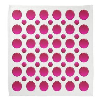 polka dots red element bandana