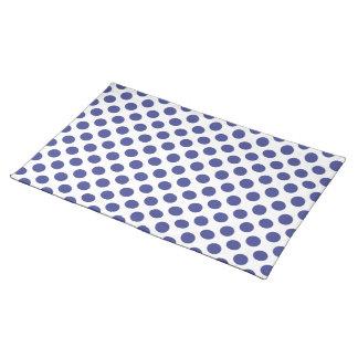 Polka Dots Royal Blue Place Mat