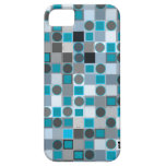 Polka Dots Square iPhone 5 Case-Mate ID Case