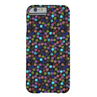 polka dots texture barely there iPhone 6 case