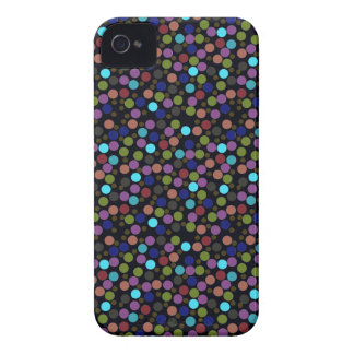 polka dots texture iPhone 4 Case-Mate cases