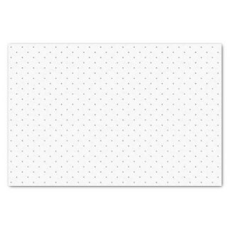 Polka Dots Tissue Paper in Gray
