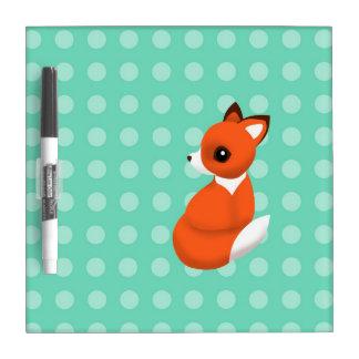 Polka Fox Dry Erase Board