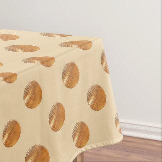 Polka golden dots tablecloth