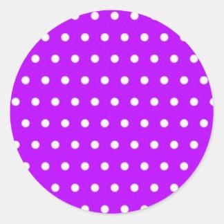 polka hots dots dabbed dab pünktchen scores round sticker