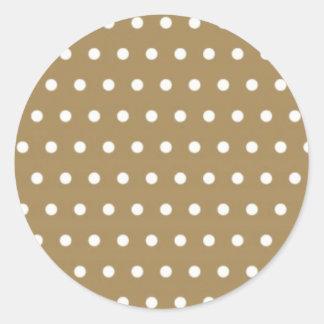 polka hots dots dot samples scores dab spot round sticker