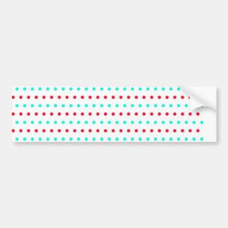 polka hots dots scores gepunktt dab peas pünk bumper sticker