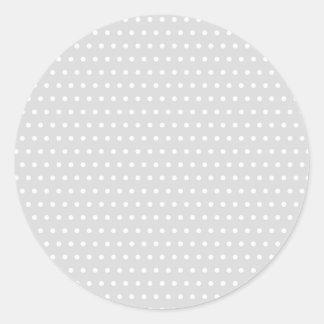 polka hots grey scored punktirt dabbed more tupfer round sticker
