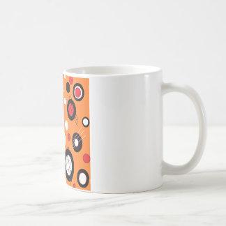 Polka Orange Coffee Mug