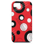 Polka Red iPhone 5 Covers