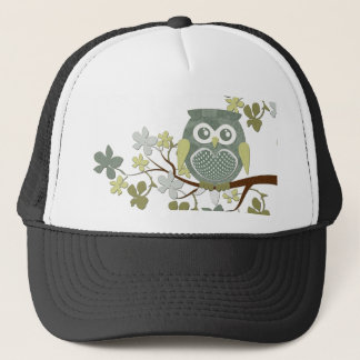 Polka Tree Owl Hat
