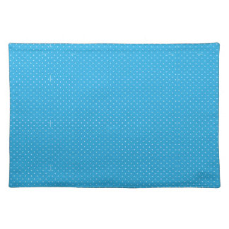 Polka White Dots Image Cloth Placemat