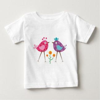 polkadot bird 3 baby T-Shirt