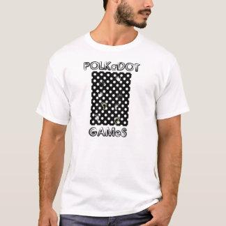 polkadot games ancient sport black white new shirt