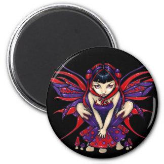 """""""Polkadot Mushroom Fairy"""" Magnet"""