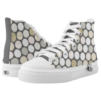 Polkadot Pattern High Tops
