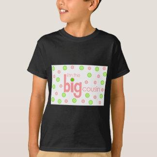 Polkadot pink and green Big Cousin T-shirt