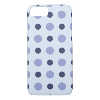 Polkadots Blue iPhone 7 Case
